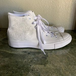 New Converse All Star High top Los Angeles white